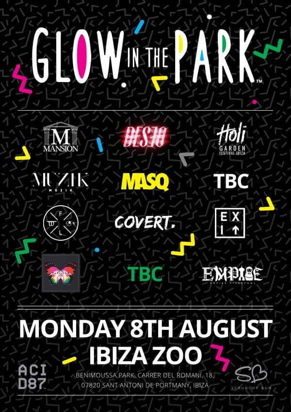 Glow in the Park Ibiza
