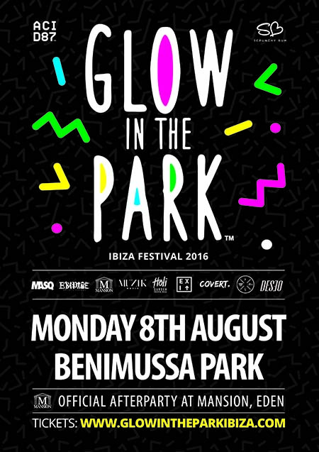 Glow in the Park Ibiza 2016