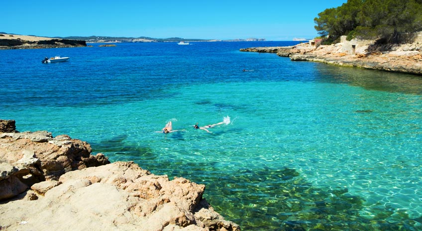 Ibiza Cala Gracio beach