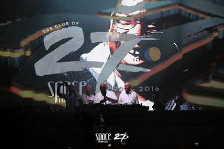 Pepe Roselló and Carl Cox on stage