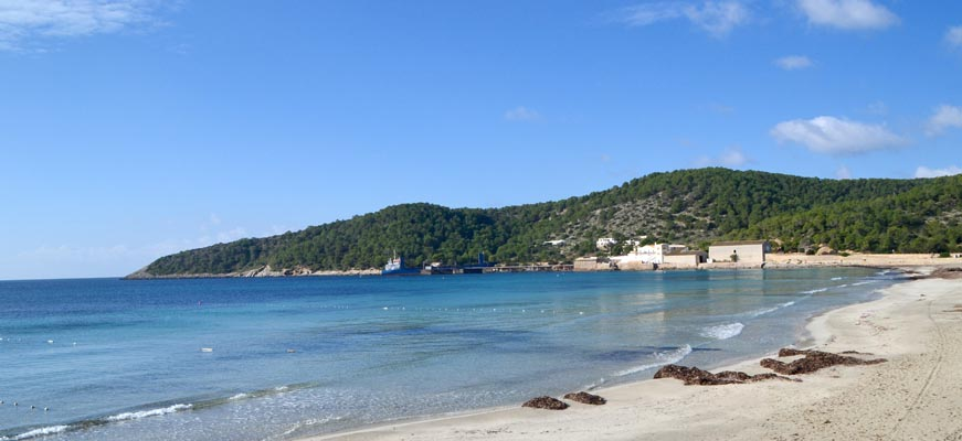 Ses Salines beach in Ibiza