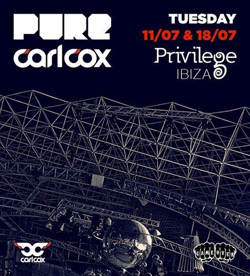 He's back! Pure Carl Cox Ibiza 2017