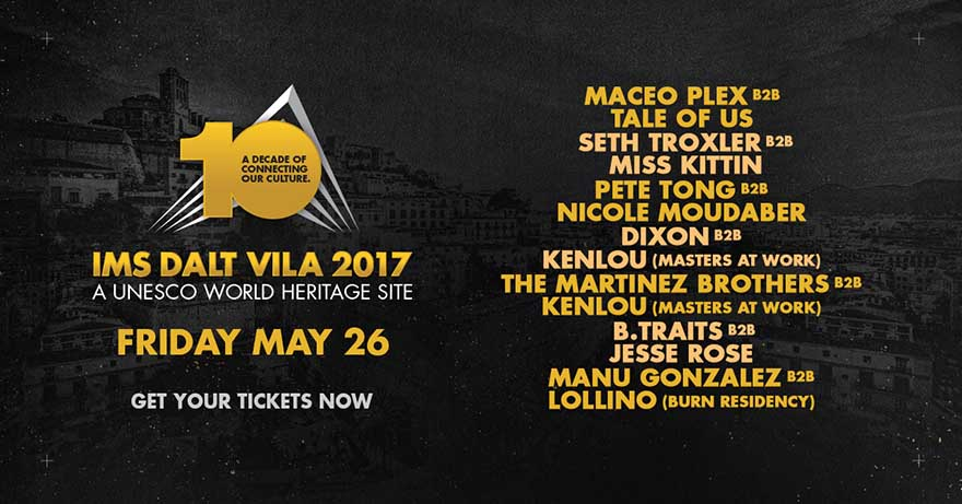 IMS Ibiza 2017 Full Line Flyer