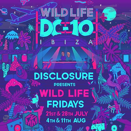 Disclosure presents Wildlife at DC10 Ibiza