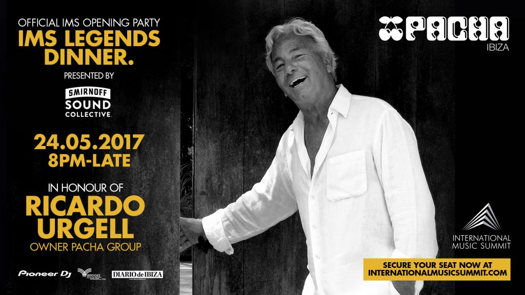 IMS Legends Dinner presented by Smirnoff Sound Collective and Diario de Ibiza