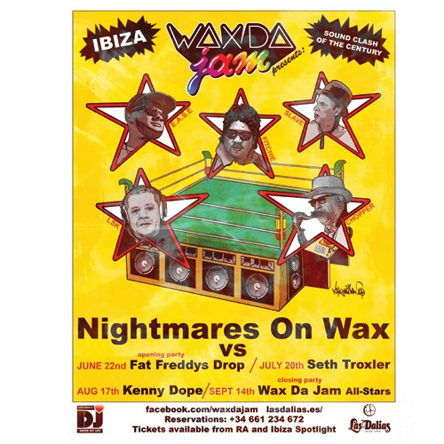 Nighmares On Wax is back for Wax Da Jam at Las Dalias Ibiza