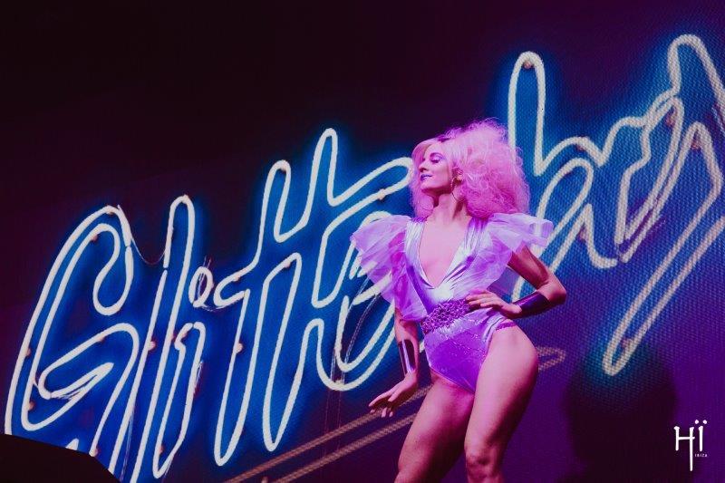 Dancers at Glitterbox at Hi Ibiza opening