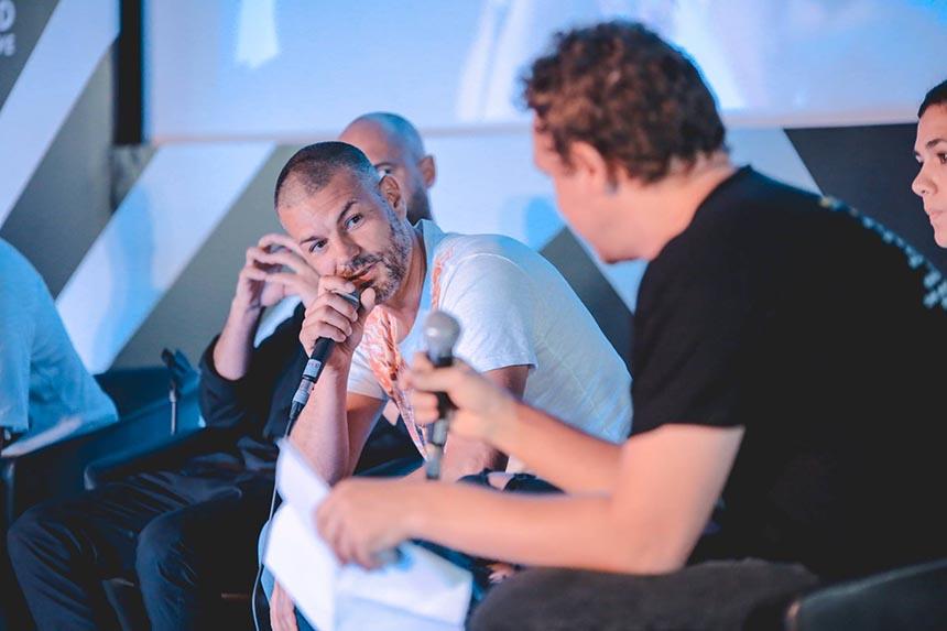 Yann Pissenem talking at the IMS Music Summit 2017