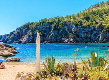 We discover some quieter beaches across Ibiza