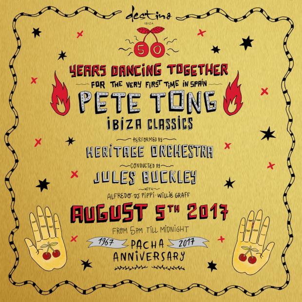 Pete Tong brings The Heritage Orquestra to Destino Ibiza