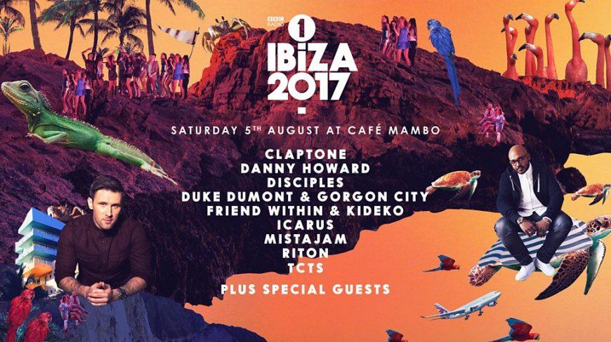 BBC Radio 1 Ibiza 2017 at Cafe Mambo