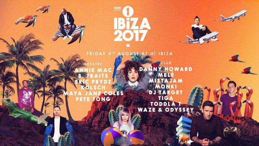 BBC Radio 1 Ibiza 2017 at Hi Ibiza