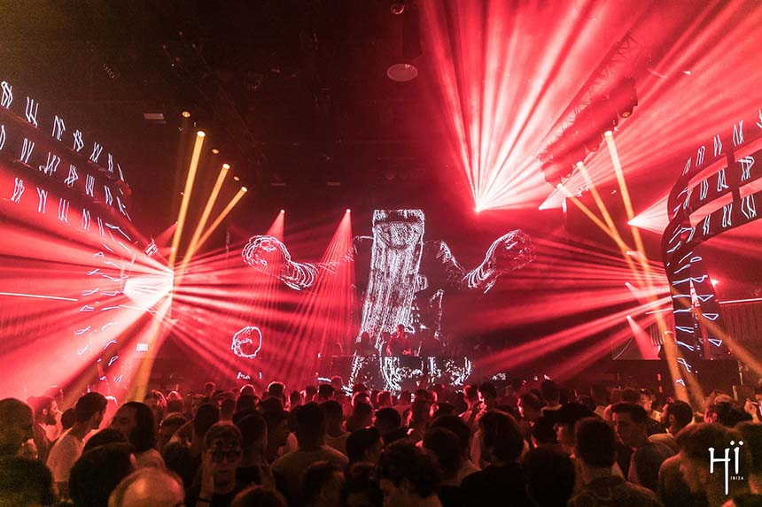 The theatre In the Dark at Hi Ibiza