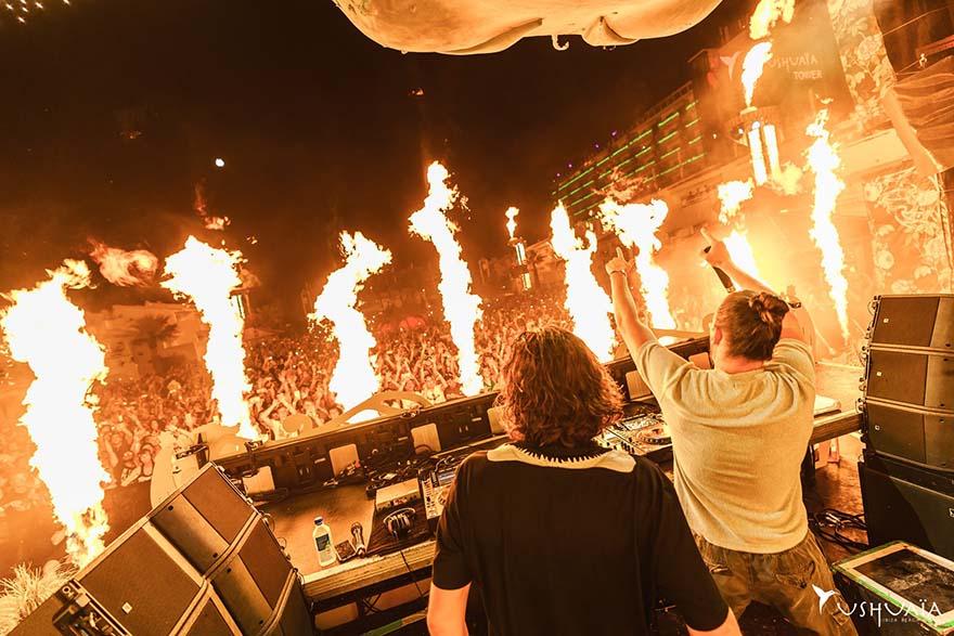 Dimitri Vegas & Like Mike at Ushuaia Ibiza