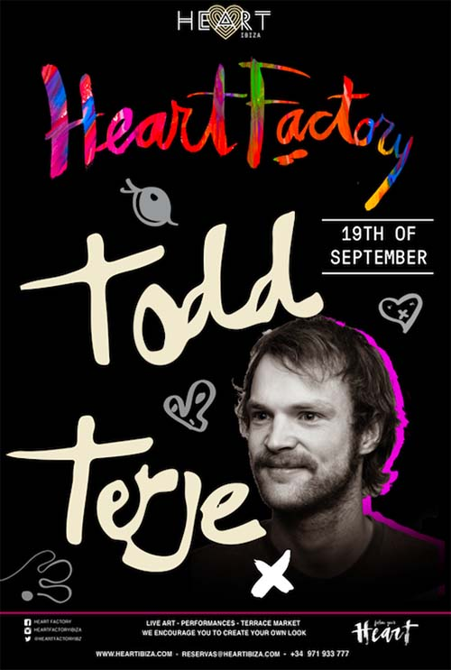 Todd Terje arrives at Heart Ibiza this Tuesday at Heart Factory