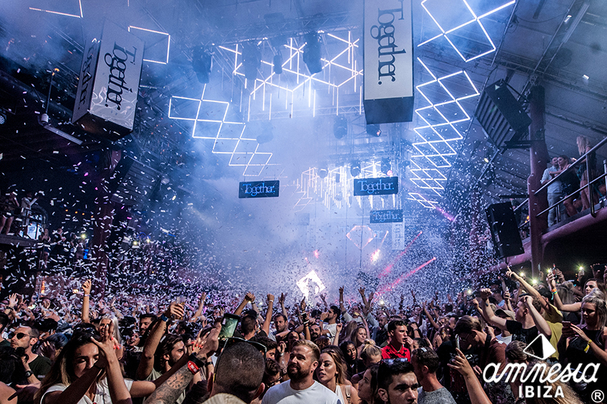 Together Closing Party at Amnesia Ibiza