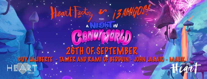 Candyworld Closing Party at Heart Ibiza