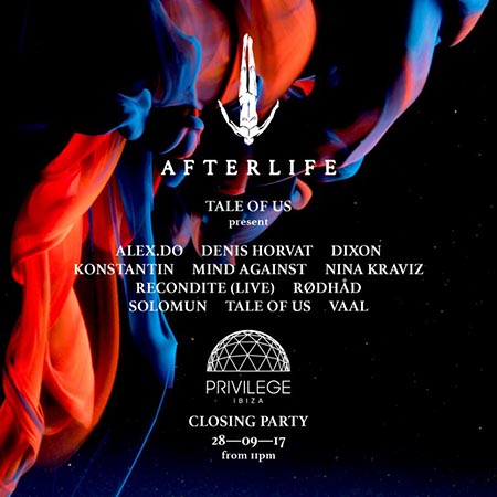 Privilege and Afterlife join forces for their closing party