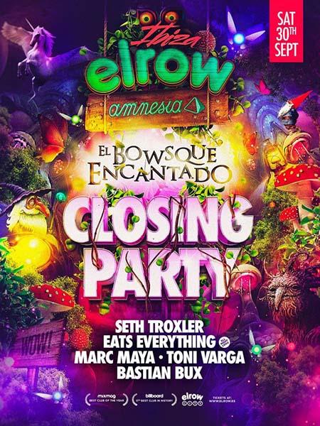 Elrow Announces their closing party at Amnesia Ibiza