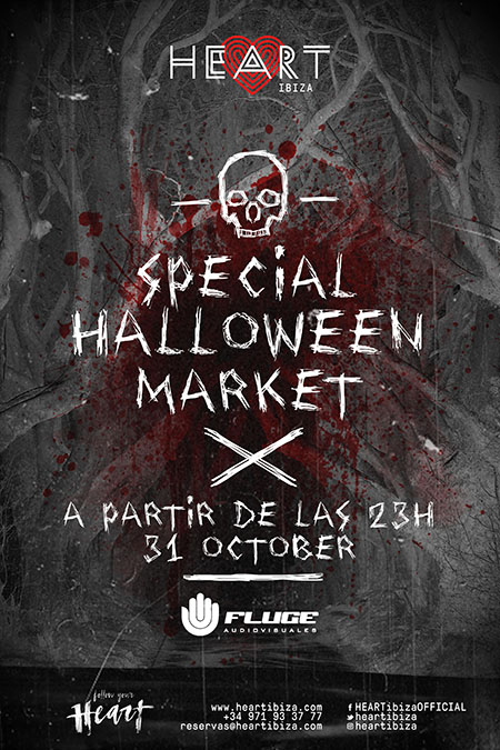 Halloween at Heart Ibiza