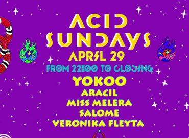 Acid Sundays are back at Heart Ibiza from April 29th