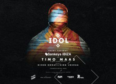 IDOL arrives at Sankey's Ibiza Every Tuesday