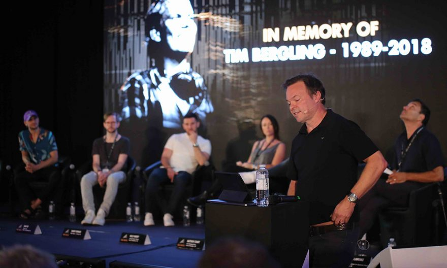 The summit opened with Pete Tong paying an emotional tribute to Avicii