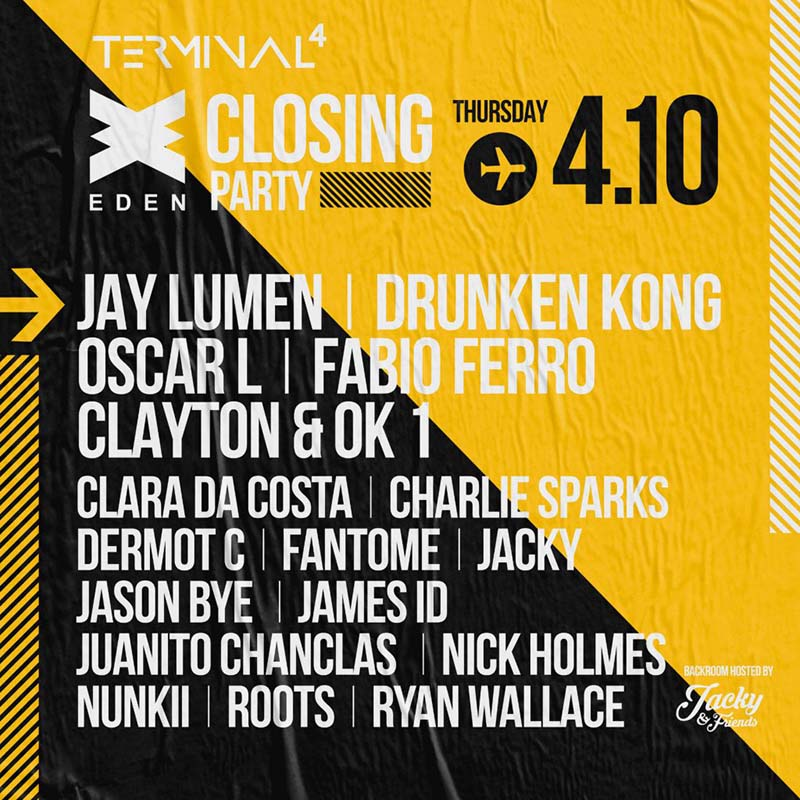 Eden Ibiza Closing party 2018