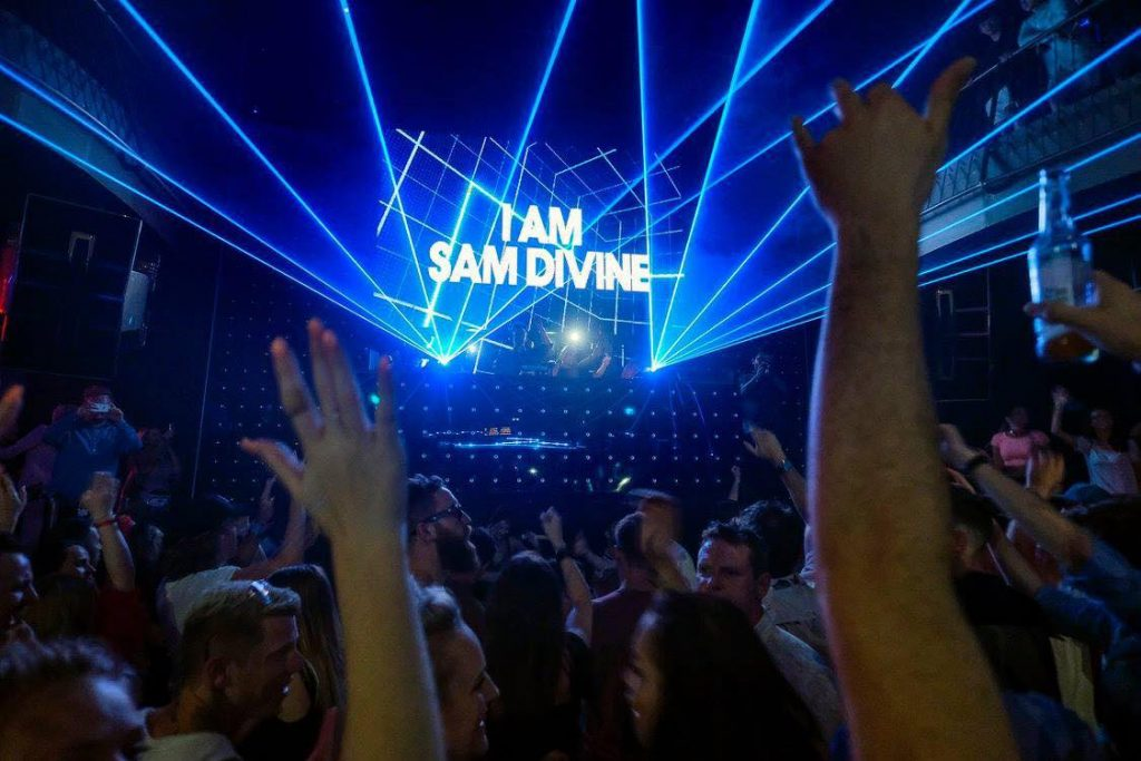 Sam Divne at Defected Closing Party 2018