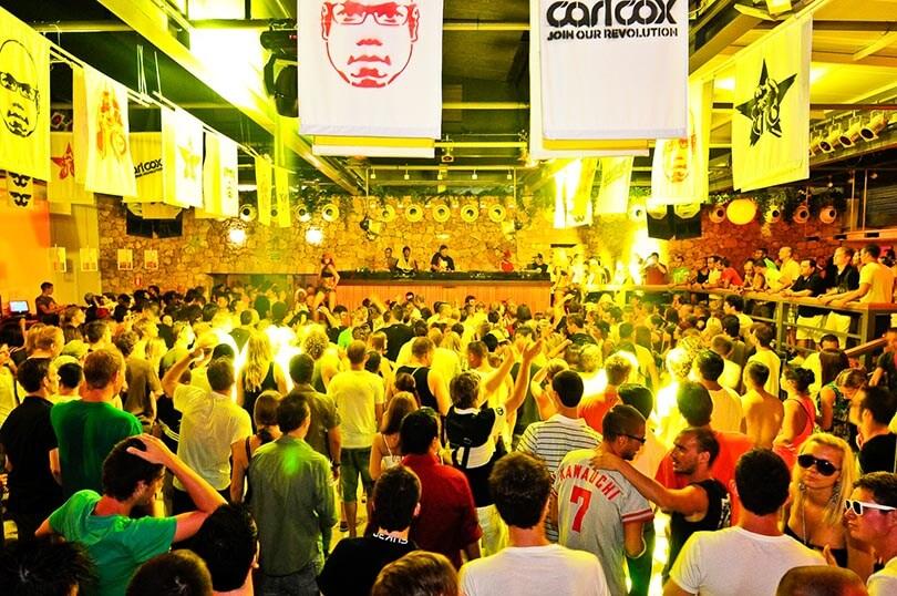 Carl Cox at Space nightclub Ibiza