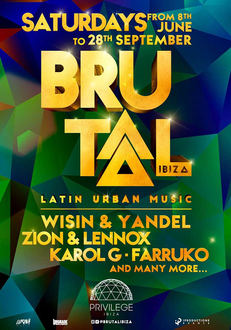Brutal at Privilege Ibiza