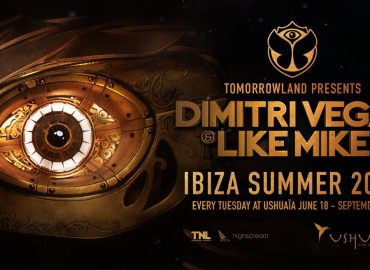 Tomorrowland presents Dimitri Vegas & Like Mike returns to Ushuaïa Ibiza