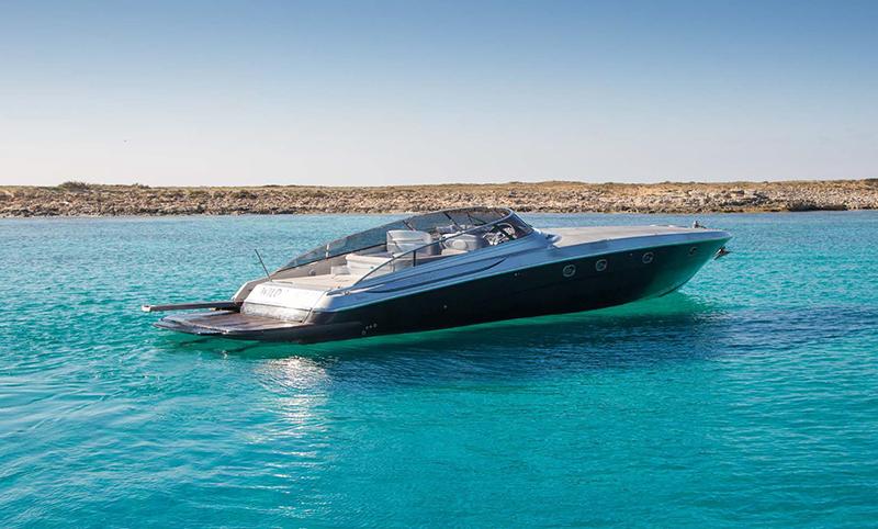 63 Baia Azura boat ibiza