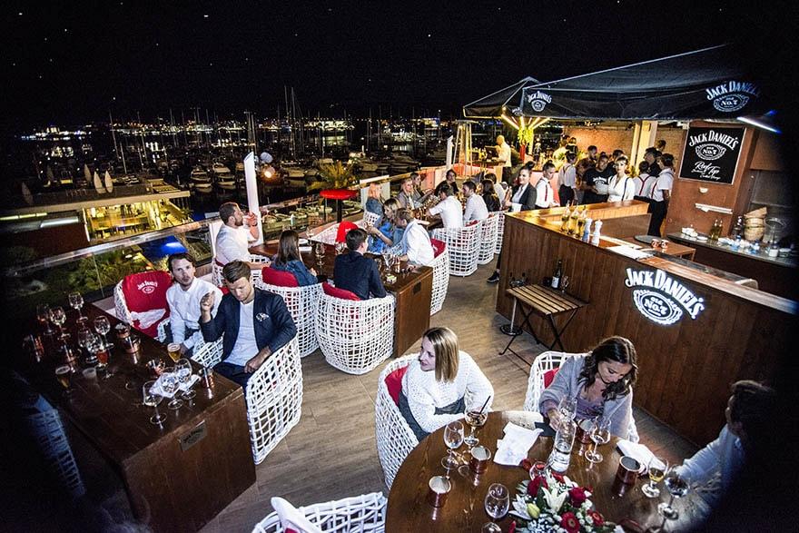 Jack Daniels rooftop Rio Ibiza