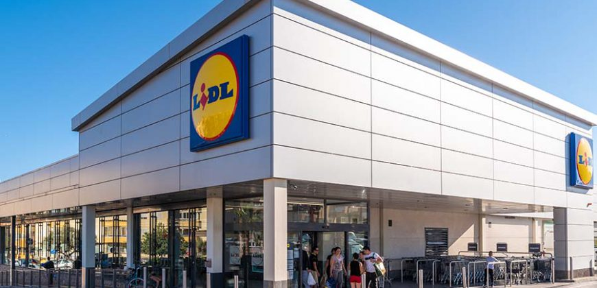 """Lidl Supermarket"""">"""