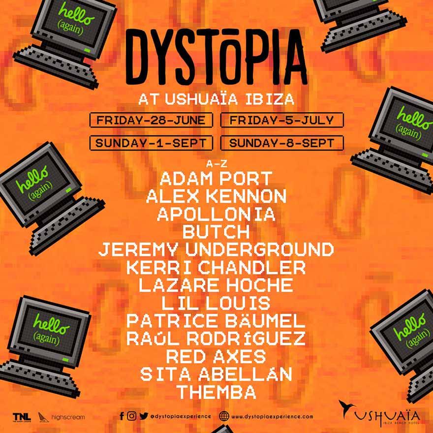 dystopia ibiza 2019