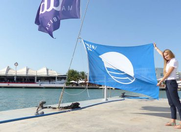 Blue Flag is hoisted again at Marina Ibiza