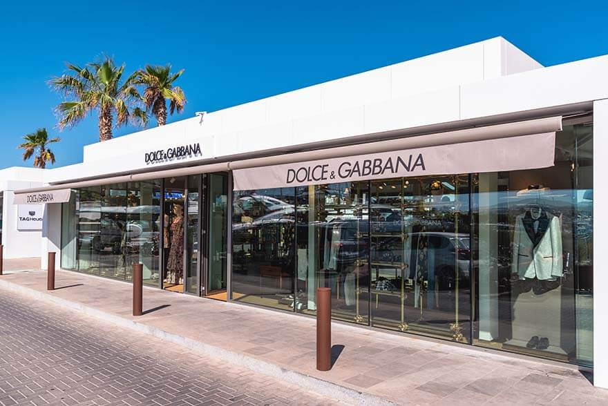 Dolce and Gabanna store Ibiza