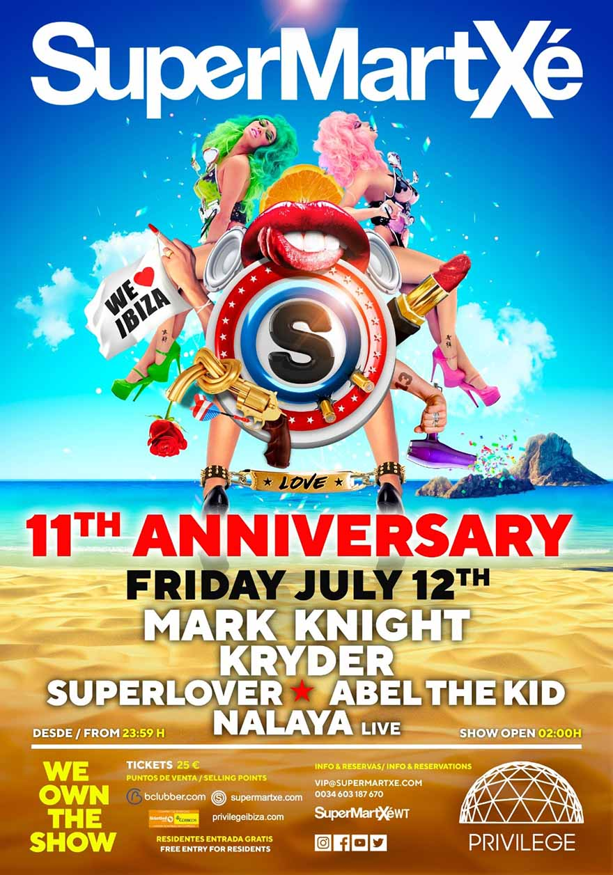 SuperMartXé 11th Anniversary