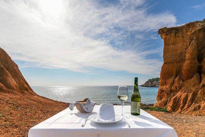 Restaurante Sa Caleta. Restaurantes Ibiza