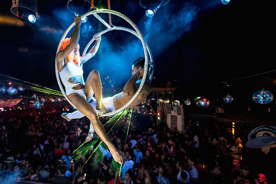 Who Cares at Cova Santa Ibiza day performers