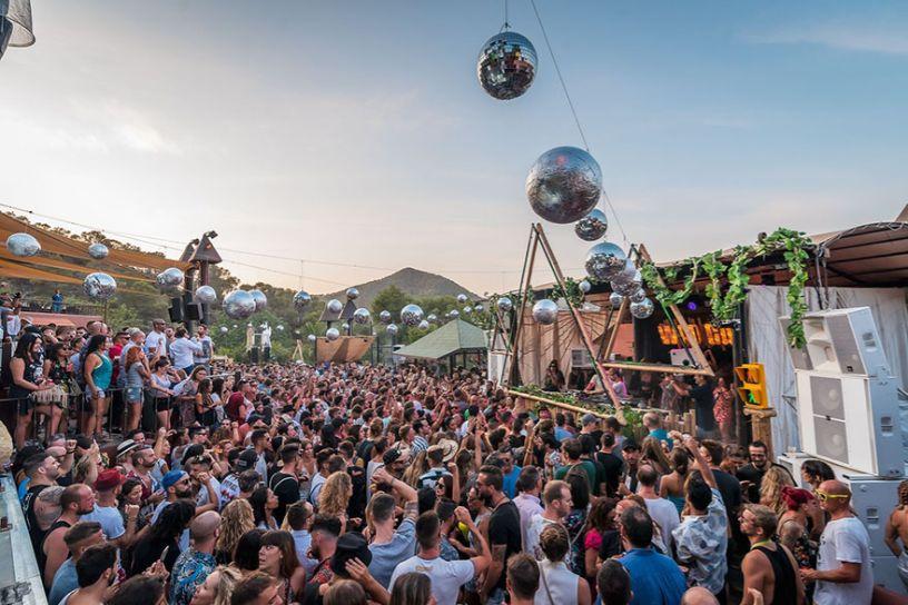 Who Cares at Cova Santa Ibiza day