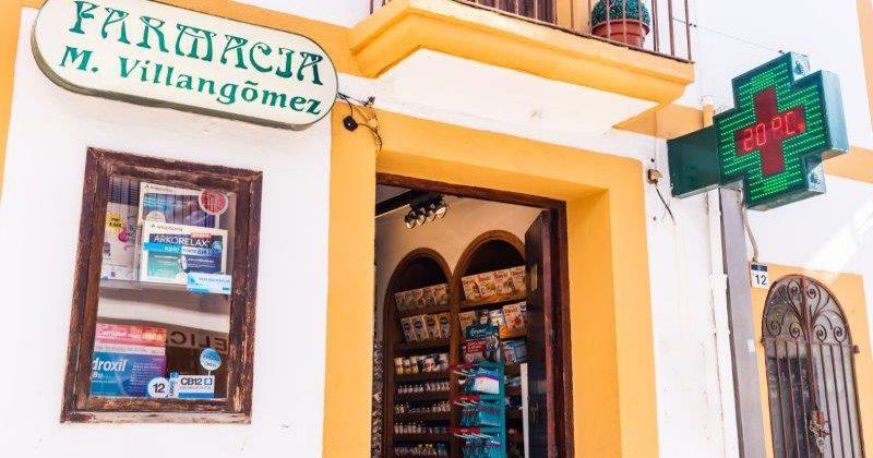 """Farmacia Margarita Villangómez Marí"""">"""