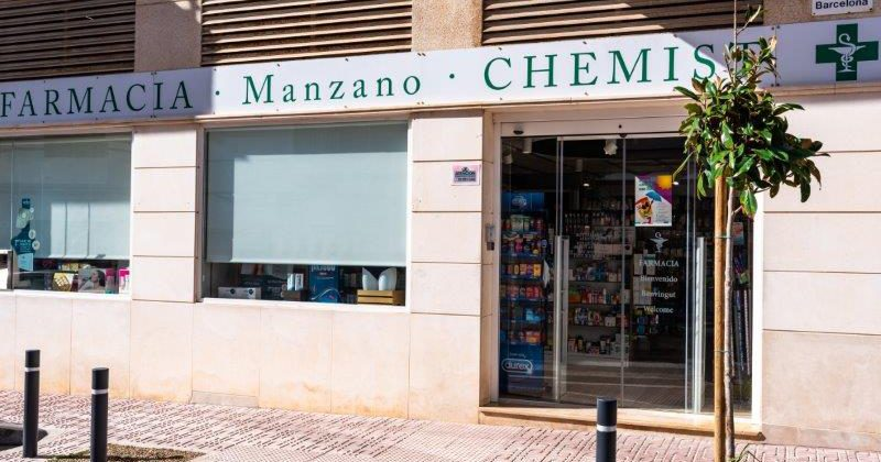 """Farmacia Manzano"""">"""