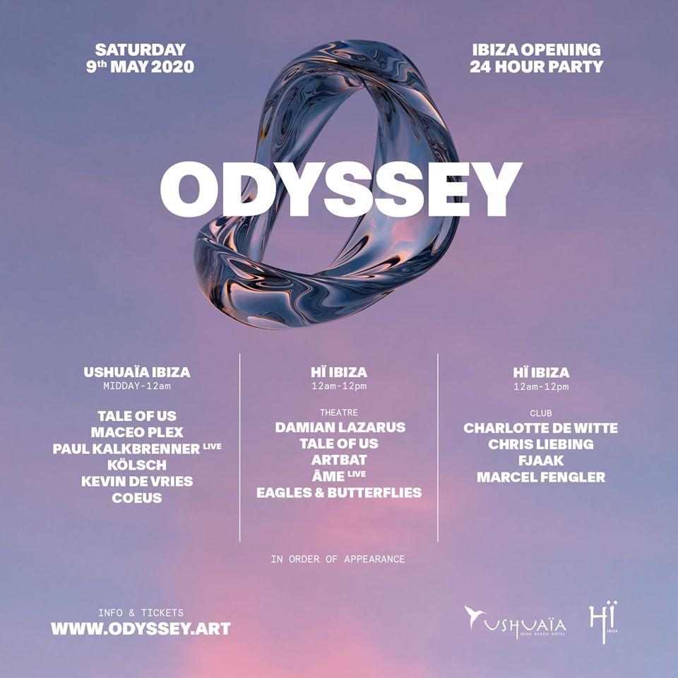 ODYSSEY IBIZA OPENING 2020