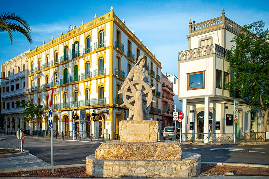 Old Town Ibizaj